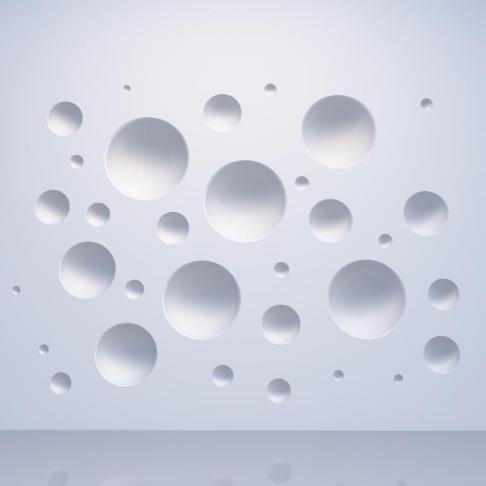 beautiful wall pattern decoration