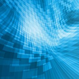 abstract background, blue perspective
