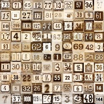 vintage numeri civici