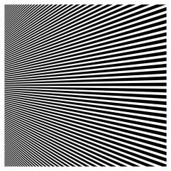 illustration vector of black horizontal stripes in perspective.