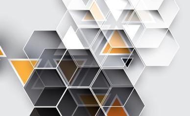 Abstract tech background. Futuristic technology interface. Vector