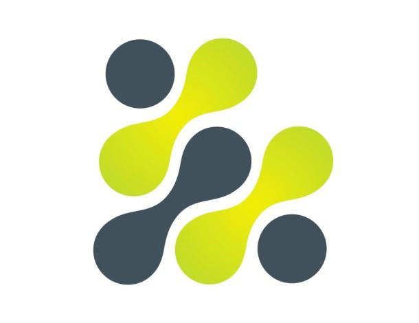 molecule business logo,connection icon,abstract technology