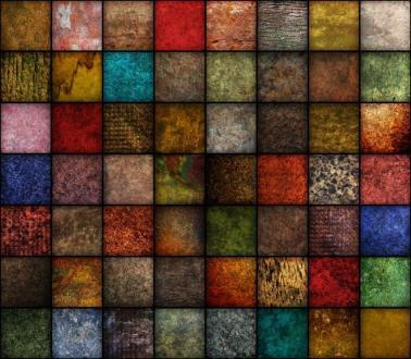 Multicolor Squares