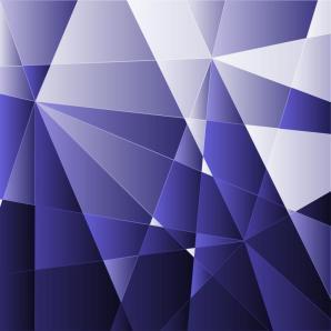 Blue polygon background