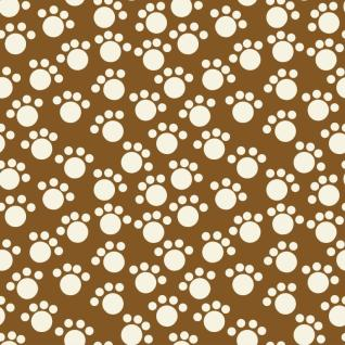 Seamless pattern footprints.