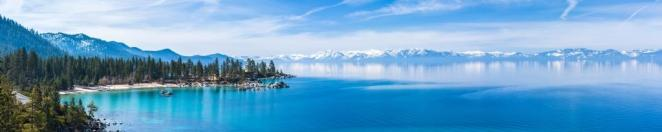 Lake Tahoe panorama