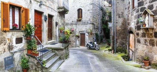 charming streets of old italian villages, Vitorchiano