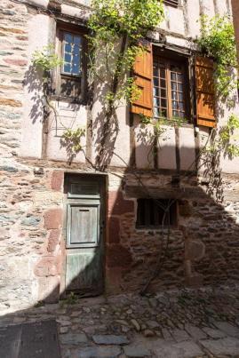Village de Conques dans l'Aveyron