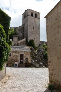 Village de la Couvertoirade dans l'Aveyron
