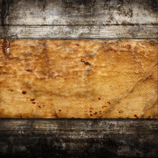 vintage legno pergamena